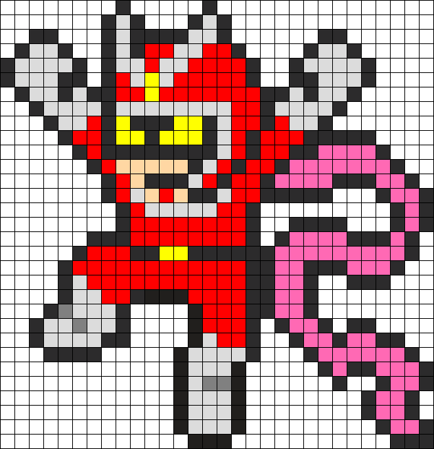 Viewtifull Joe Perler Bead Pattern / Bead Sprite