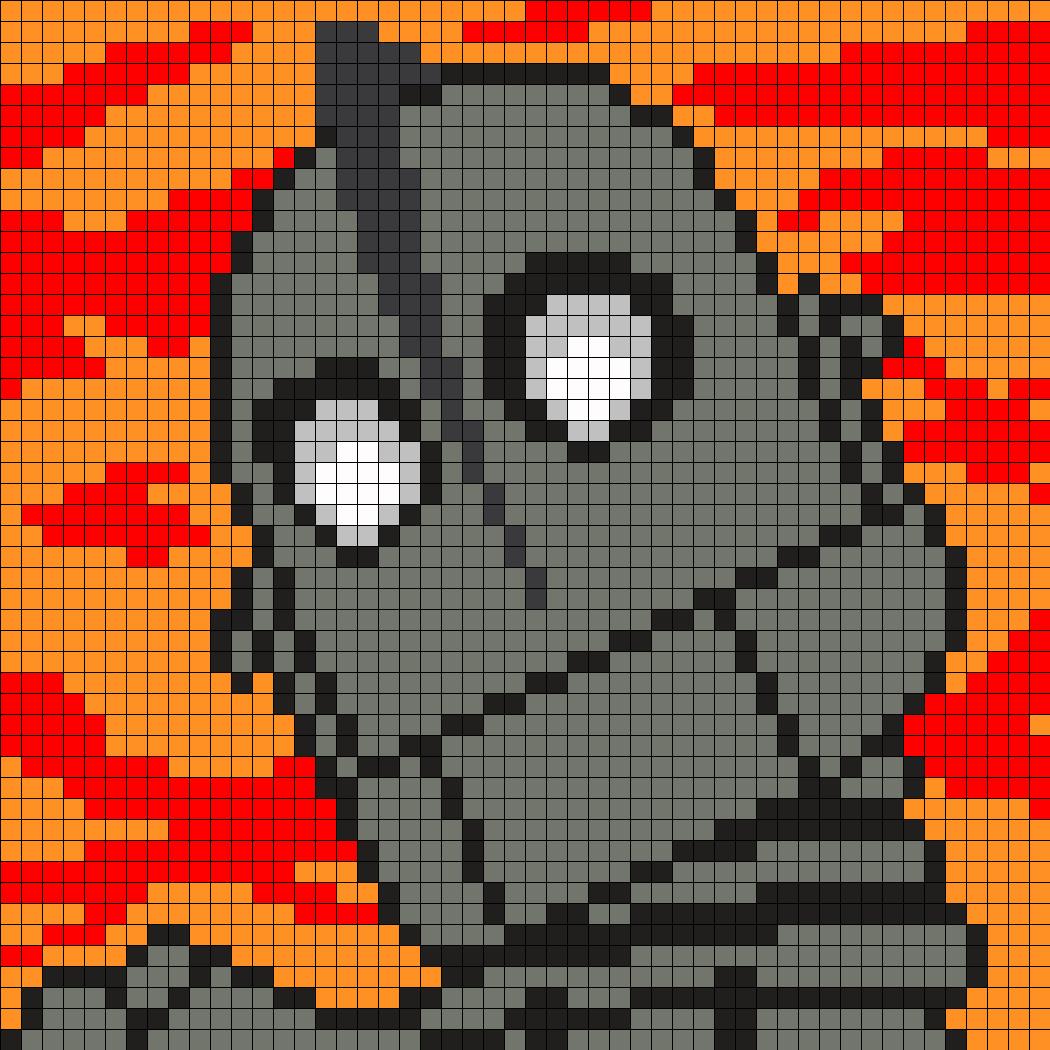 Iron Giant Perler
