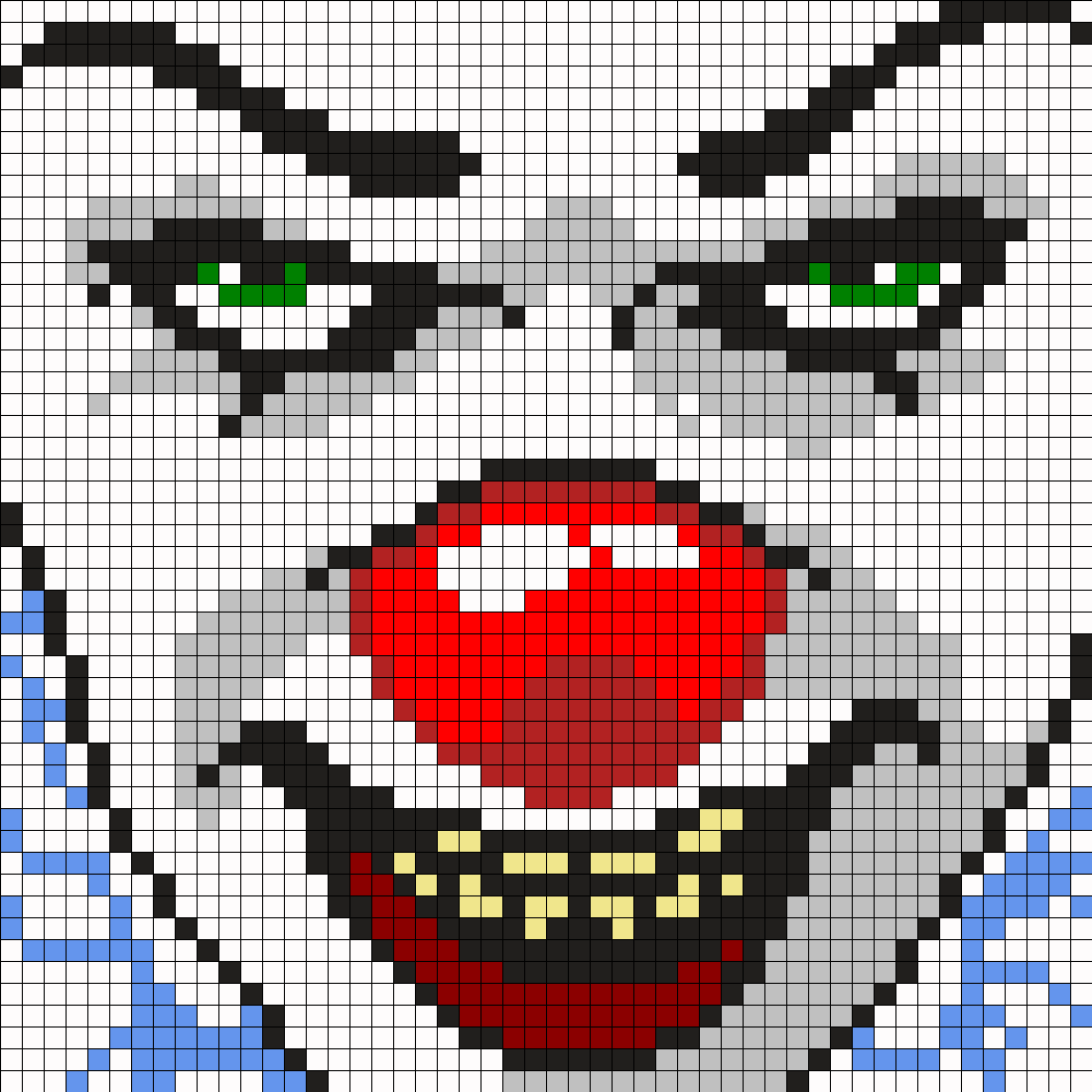 Pennywise The Clown From It Square