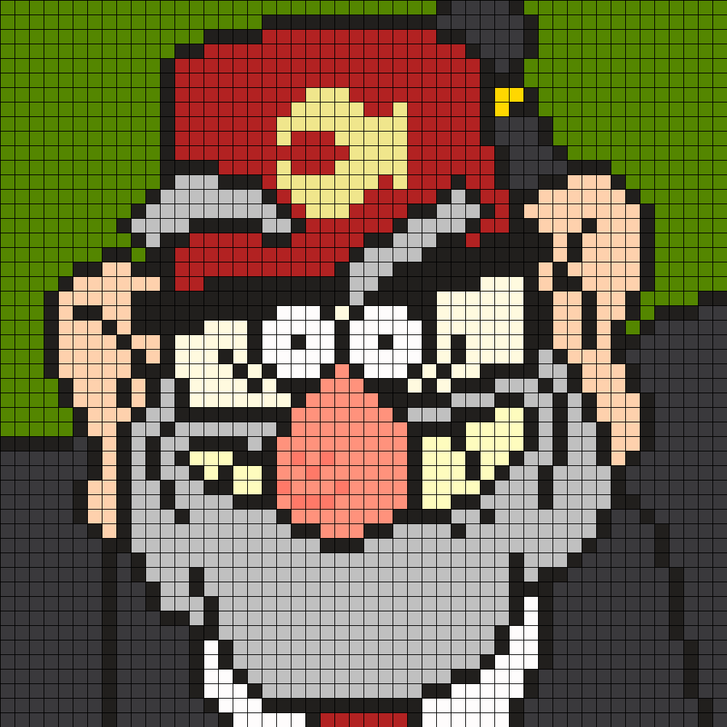 Grunkle Stan From Gravity Falls Square