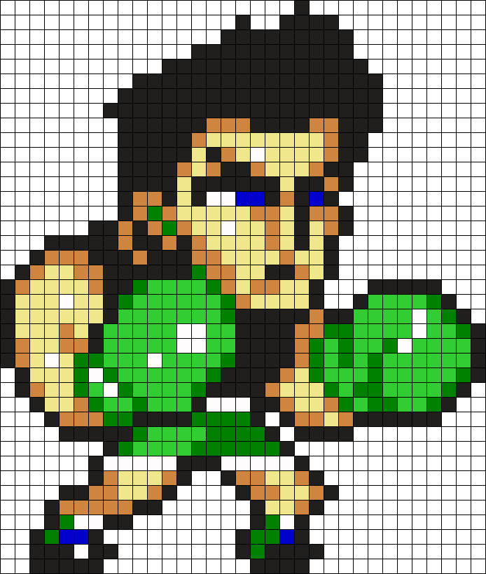 Little Mac Perler Bead Pattern / Bead Sprite