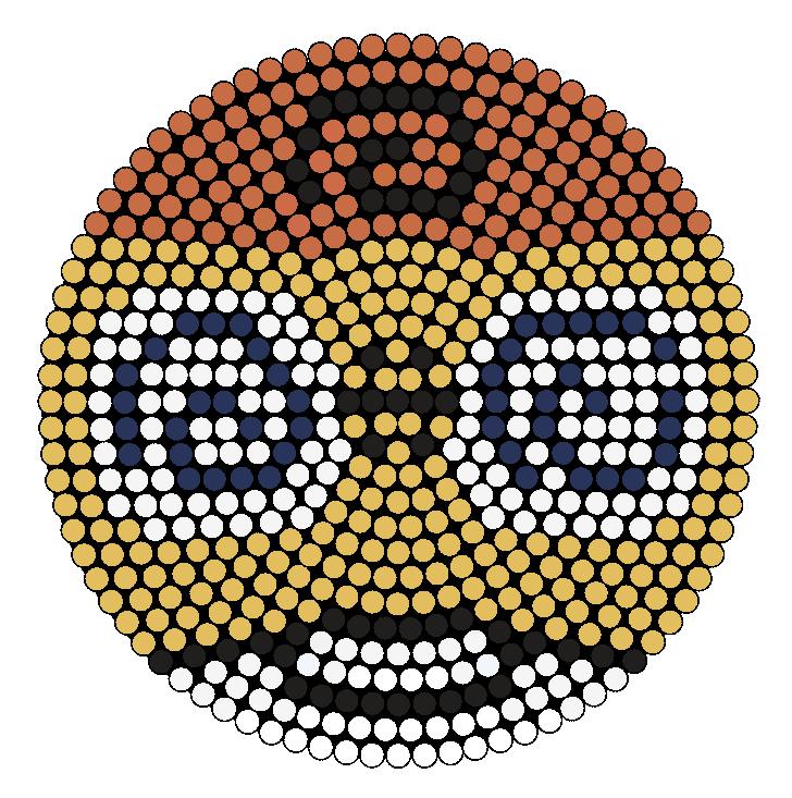Kululu Perler Bead Pattern / Bead Sprite