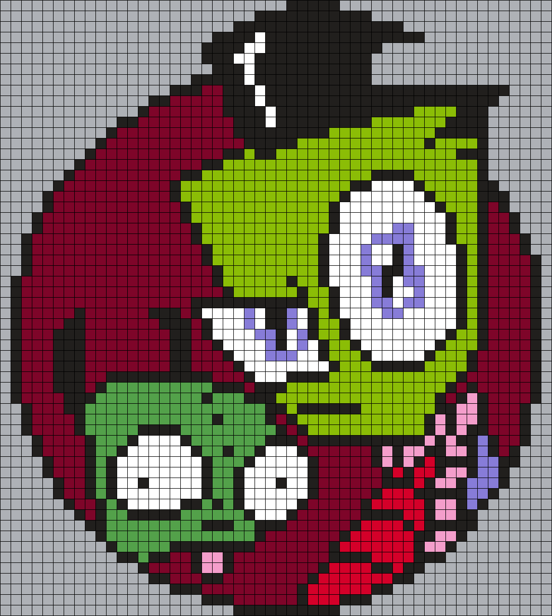 Gir And Zim From Invader Zim