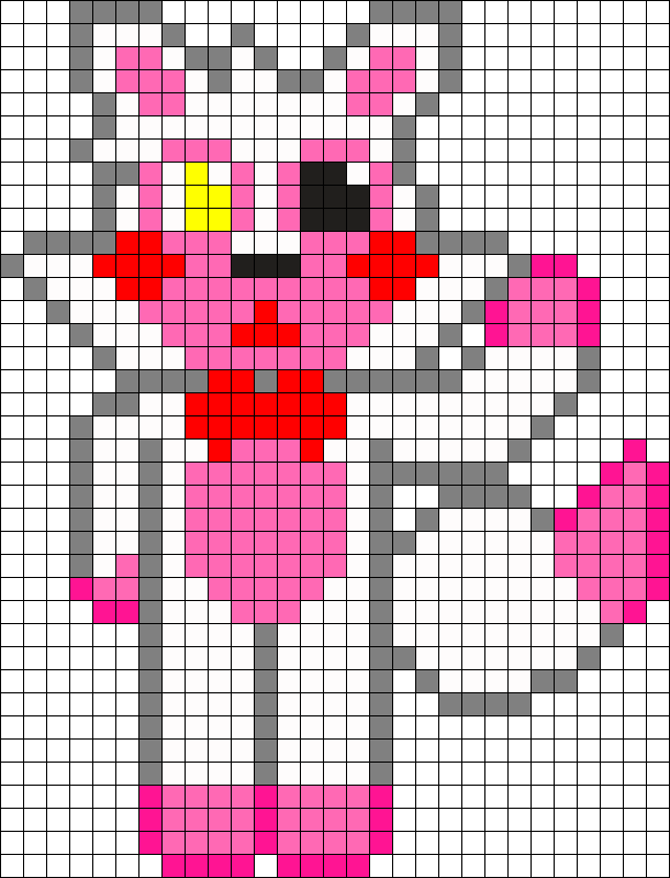 Chibi Mangle Fnaf