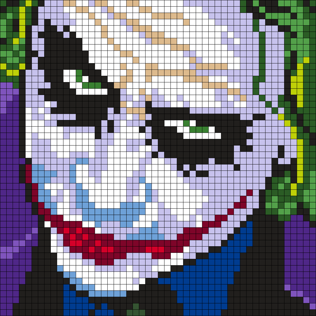 Heath Ledger As The Joker (Square)