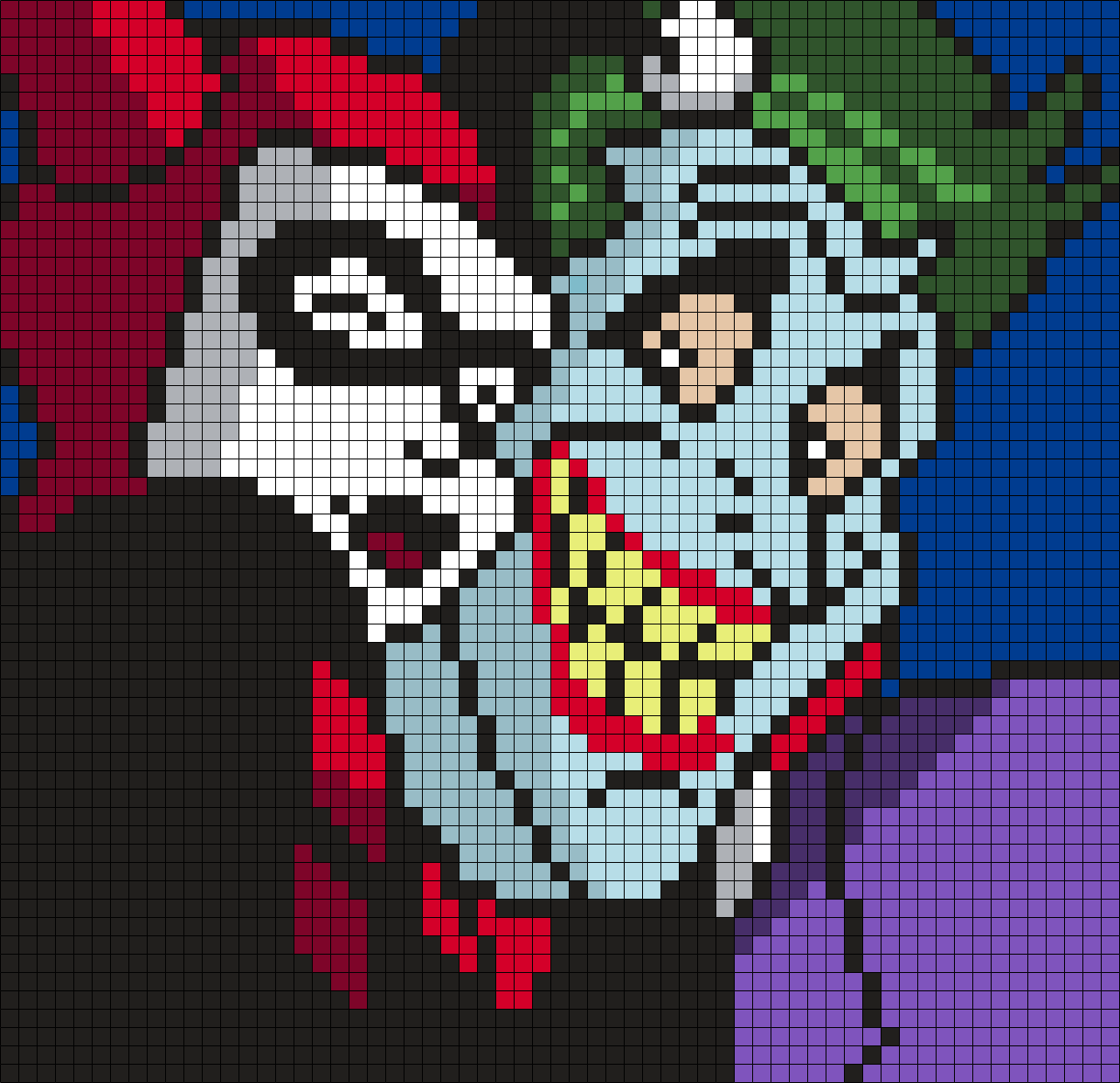 Harley Quinn And The Joker Selfie (Square)
