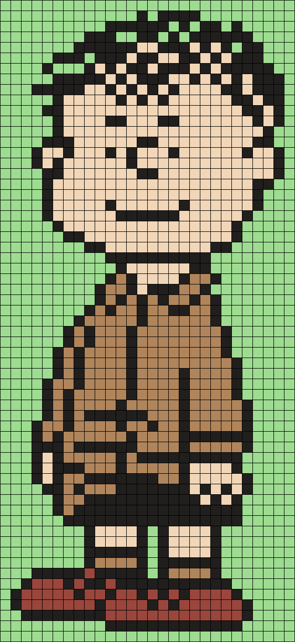 Shermy From Snoopy And The Peanuts Gang (Square)