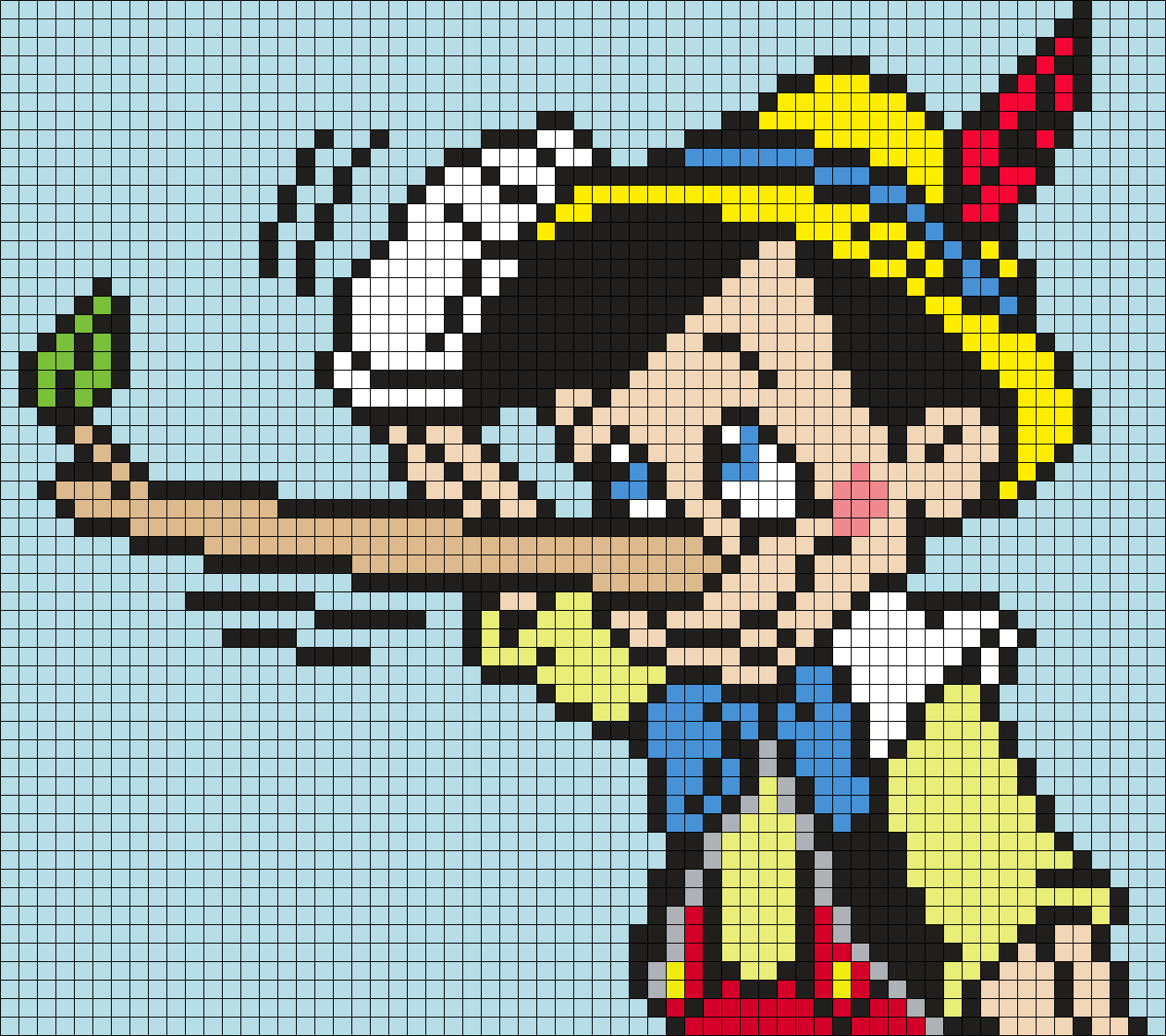 Pinnochio Lying (Square)