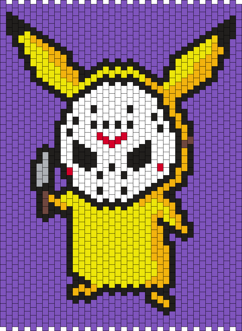 Pikachu In A Jason Voorhees Mask  (Multi)