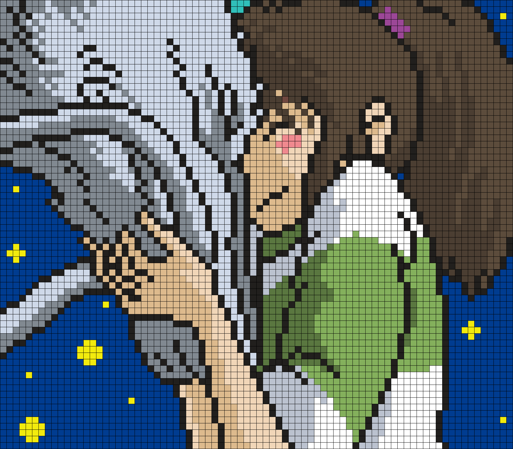 Haku And Chihiro From Spirited Away