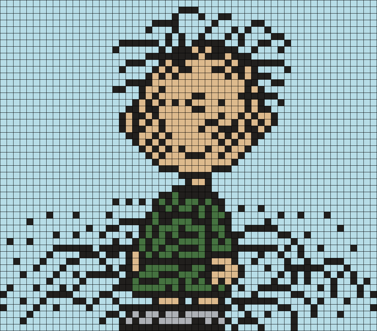 Pigpen From Snoopy And The Peanuts Gang Perler Bead Pattern / Bead Sprite
