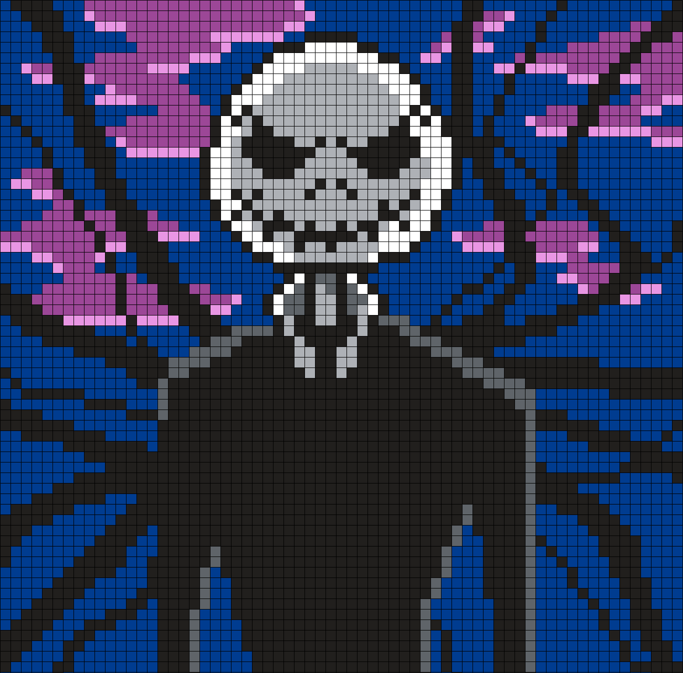 Jack Skellington As Slenderman (Square)