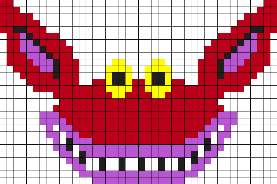 Ickis Ahh Real Monsters Perler