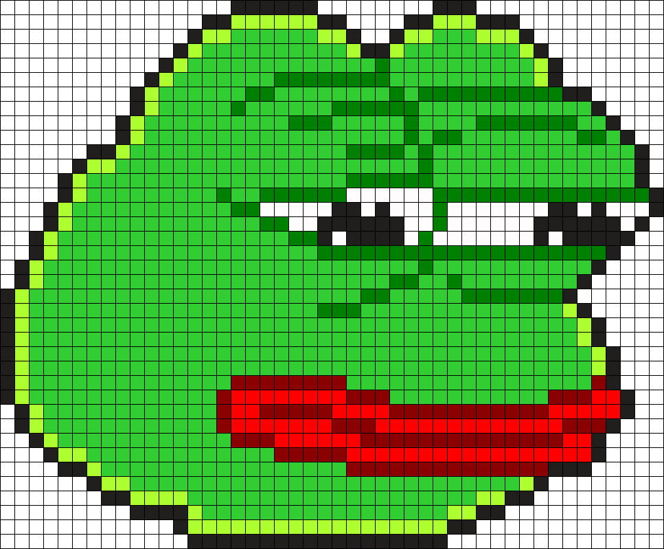Pepe The Frog (I made this when it was a good meme)