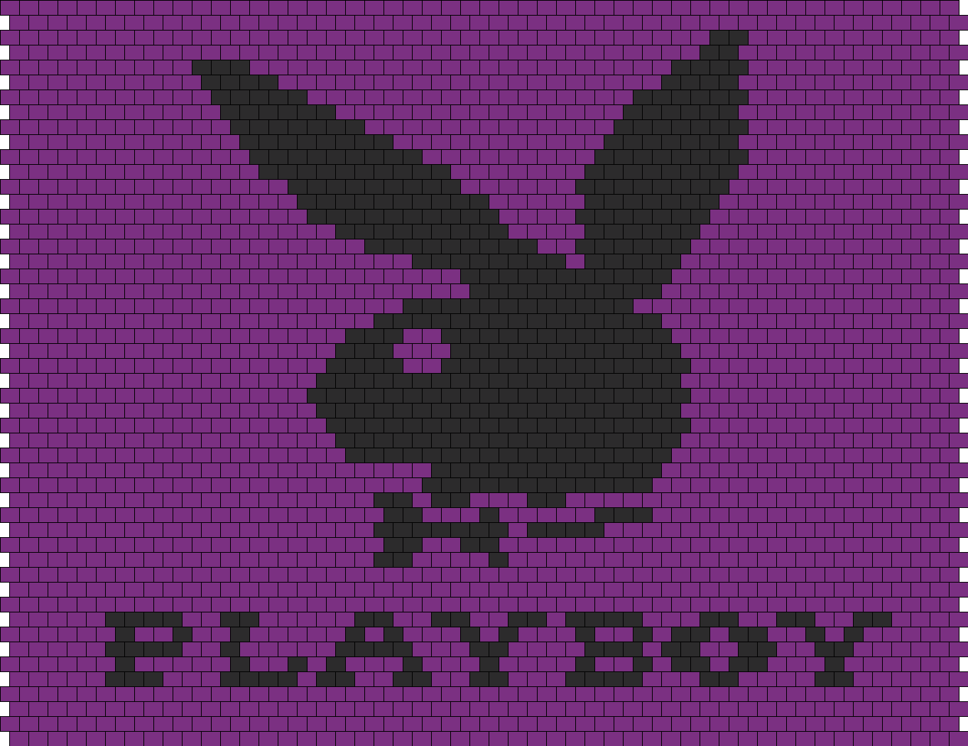 Purple Playboy Bunny Bag