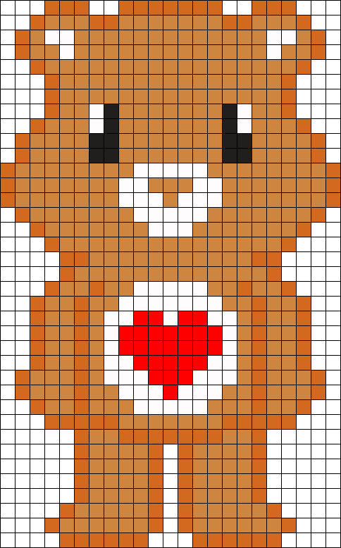 8 Bit Care Bear Tender Heart
