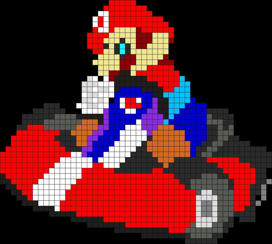 Mario Kart Perler Bead Pattern / Bead Sprite