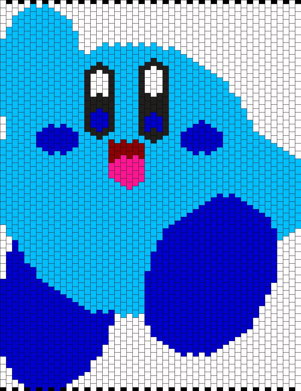 Blue Kirby Panel