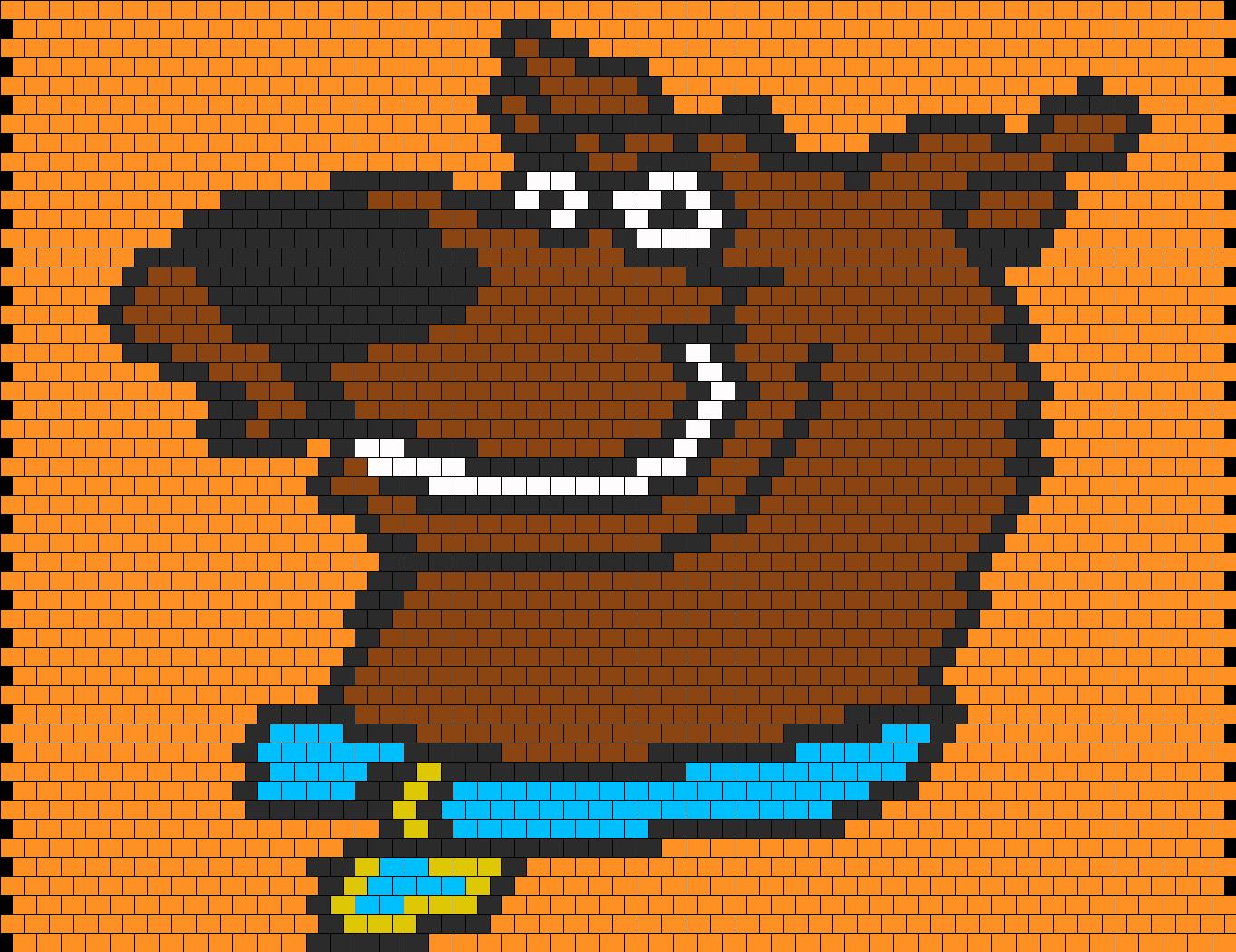 Scooby Doo Bead Pattern