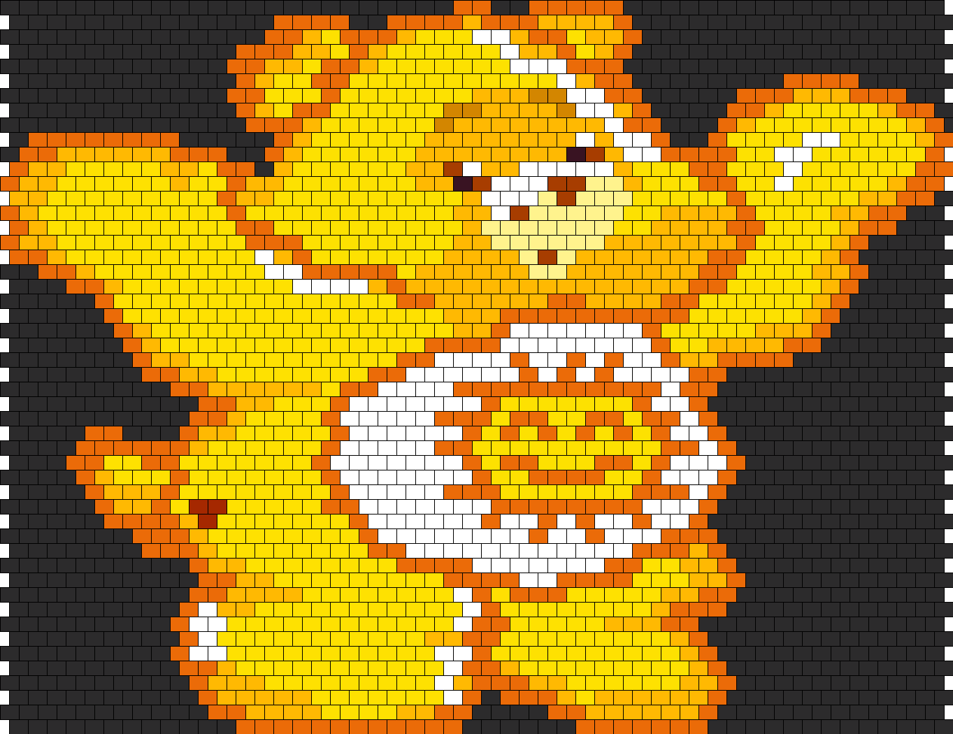 Funshine Bear Bead Pattern
