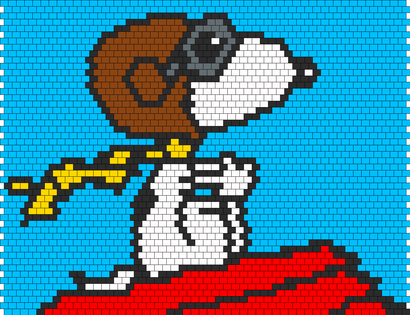 Snoopy As Red Baron Bag