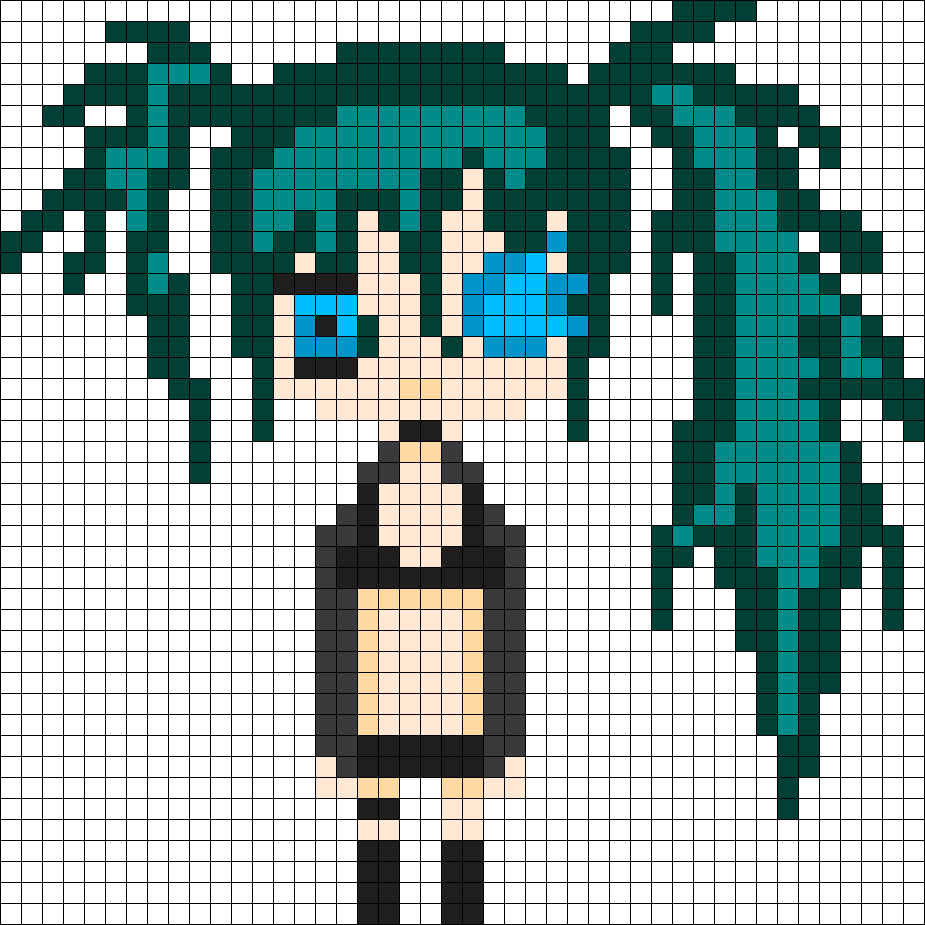Black Rock Shooter Pearler