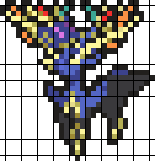 Xerneas Pokemon Sprite