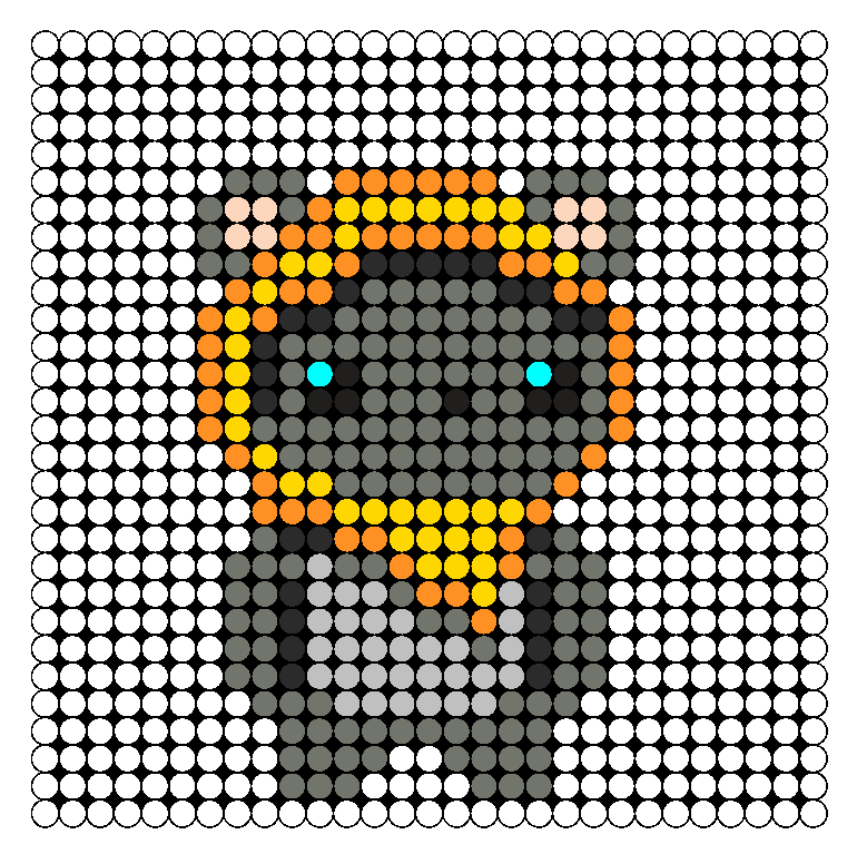 Ewok Perler Bead Pattern / Bead Sprite