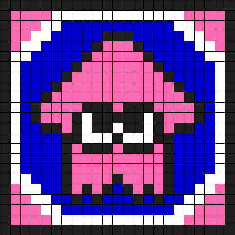 Splatoon Squidling Pink Coaster