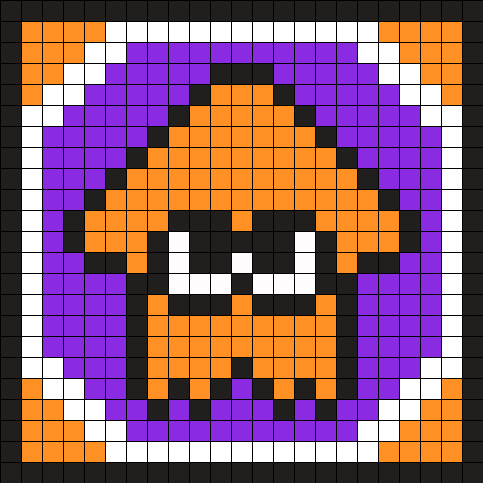Splatoon Orange Squidling Coaster