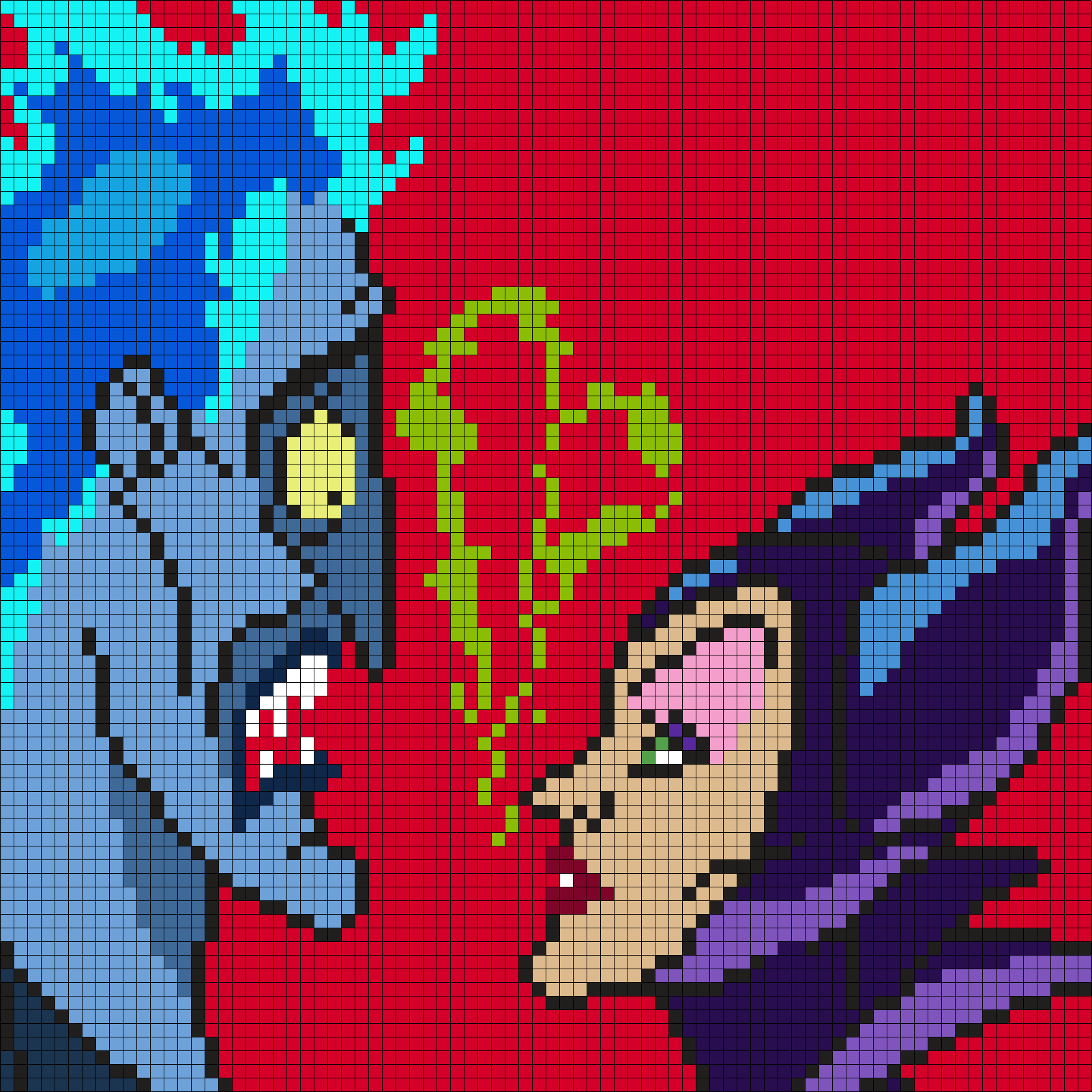 Hades And Maleficent (Square)