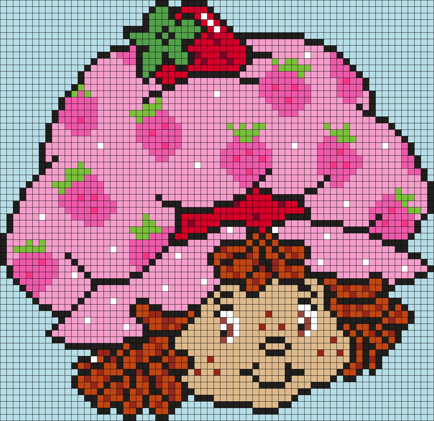 Strawberry Shortcake (square)