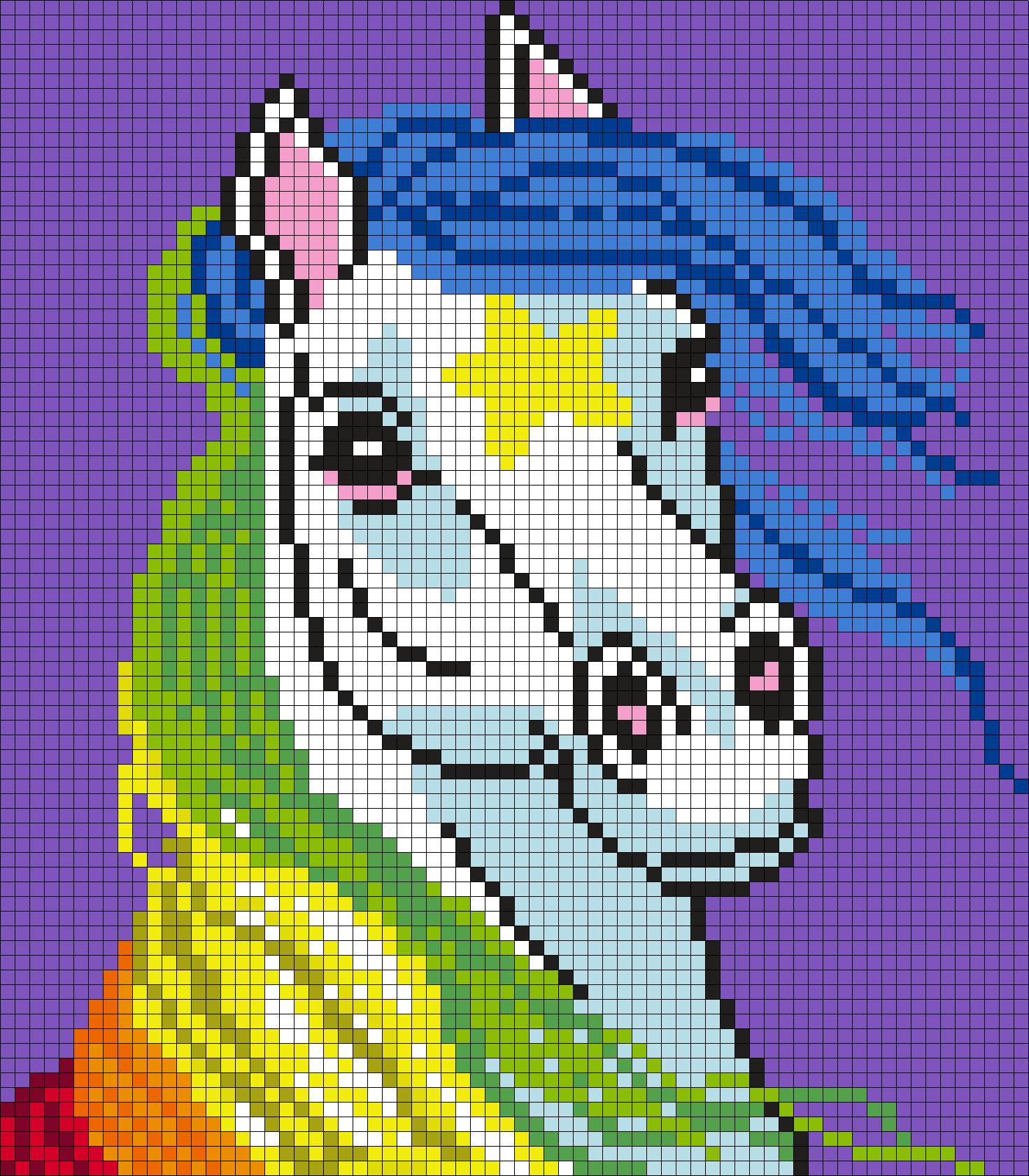 Starlite From Rainbow Brite (Square)