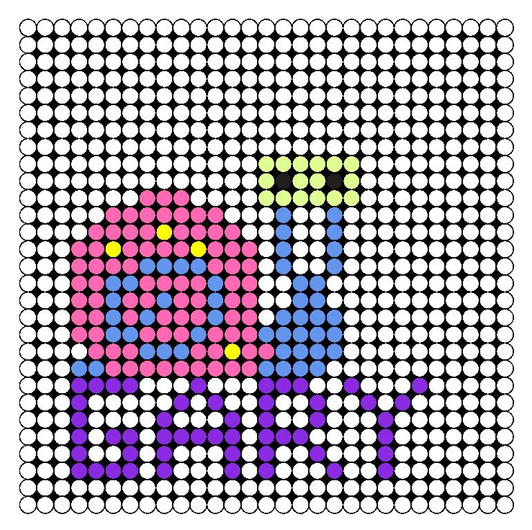Gary Perler Bead Pattern / Bead Sprite