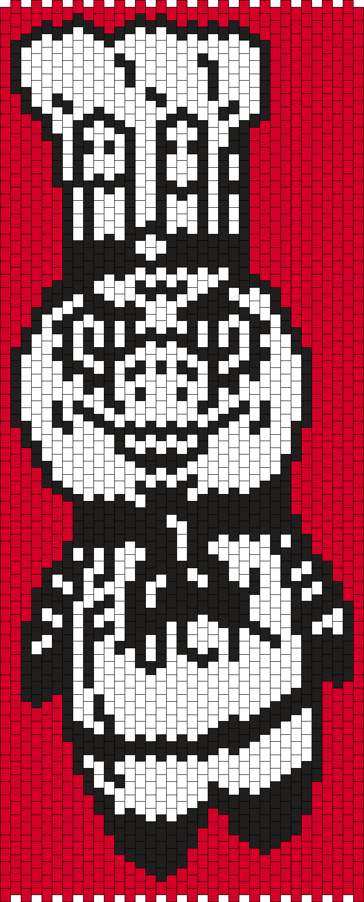 Mr. Eff Bead Pattern