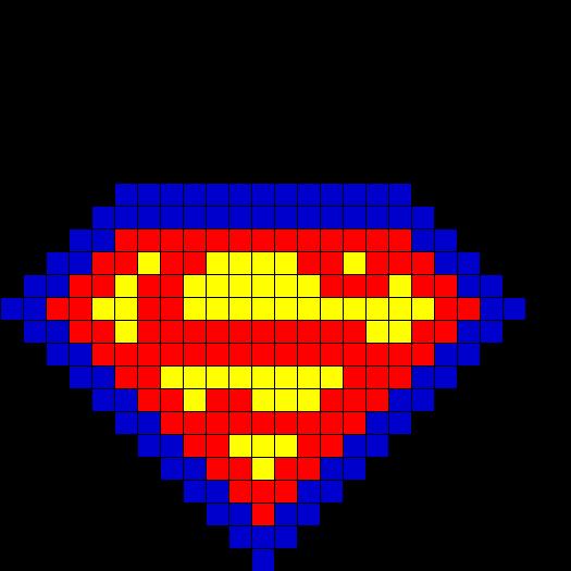 Superman Fusebead Perl...