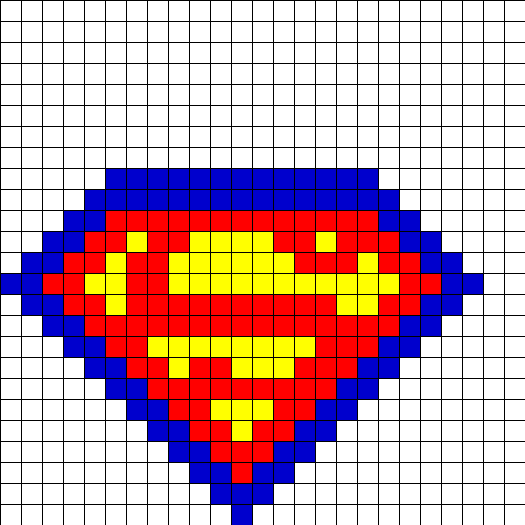 superman fusebead