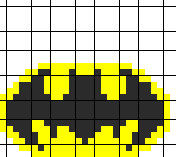 Batman Fusebead Perler Bead Pattern Bead Sprites Characters Fuse Delectable Fuse Beads Patterns