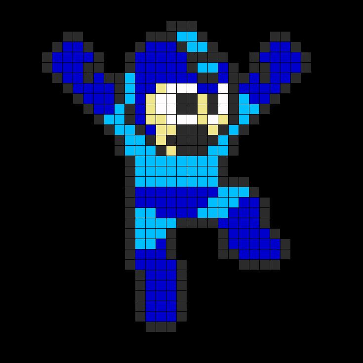 Mega Man Perler