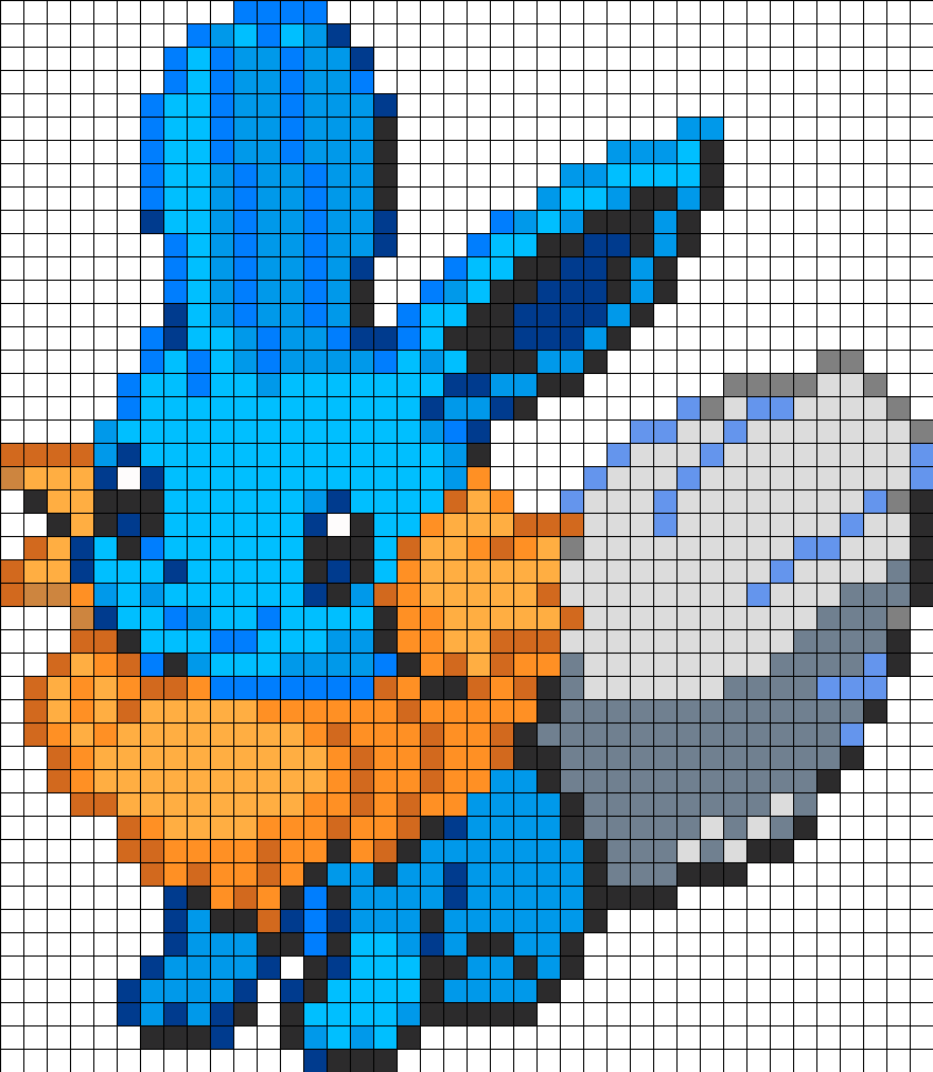Eevee and Mudkip Fusion