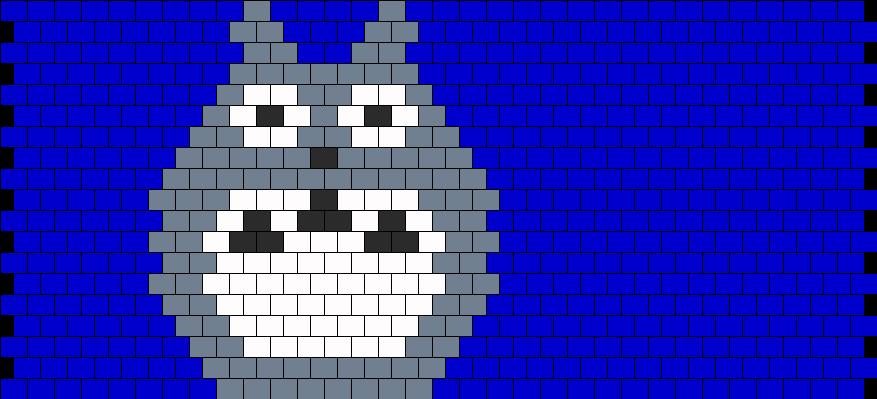 Totoro Bead Pattern