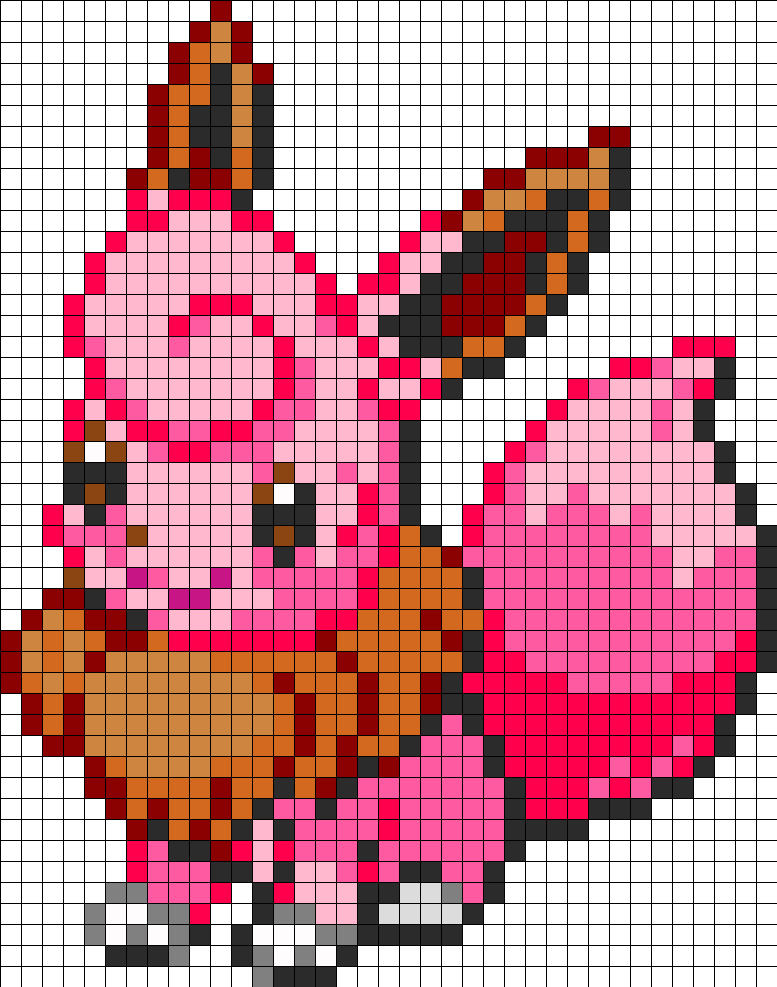 Eevee and Clefairy Fusion