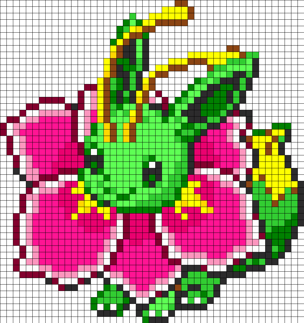 Eevee and Meganium Fusion