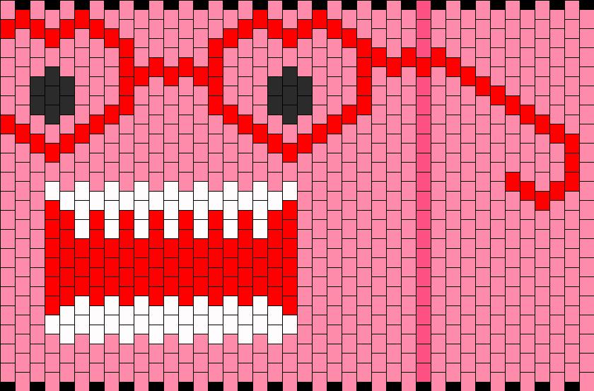 Valentine Domo Bead Pattern