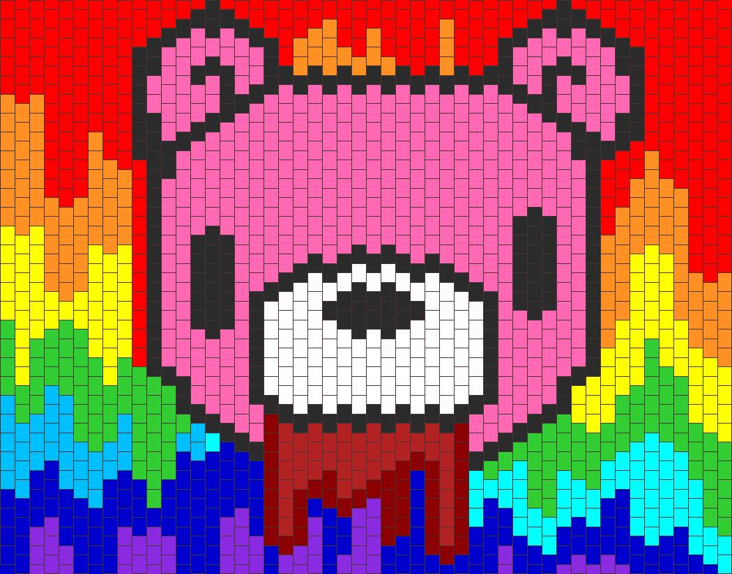 Psycho teddy gloomy bear remake