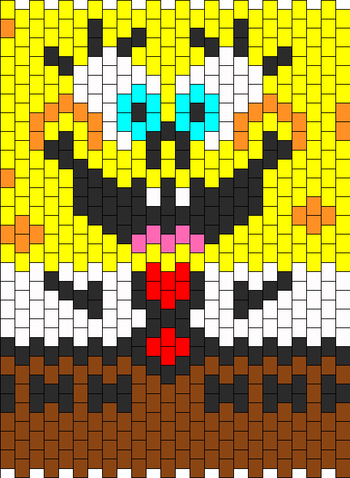 SpongeBob Bead Pattern
