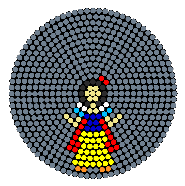 Disney Princess Snow White Perler Bead Pattern / Bead Sprite