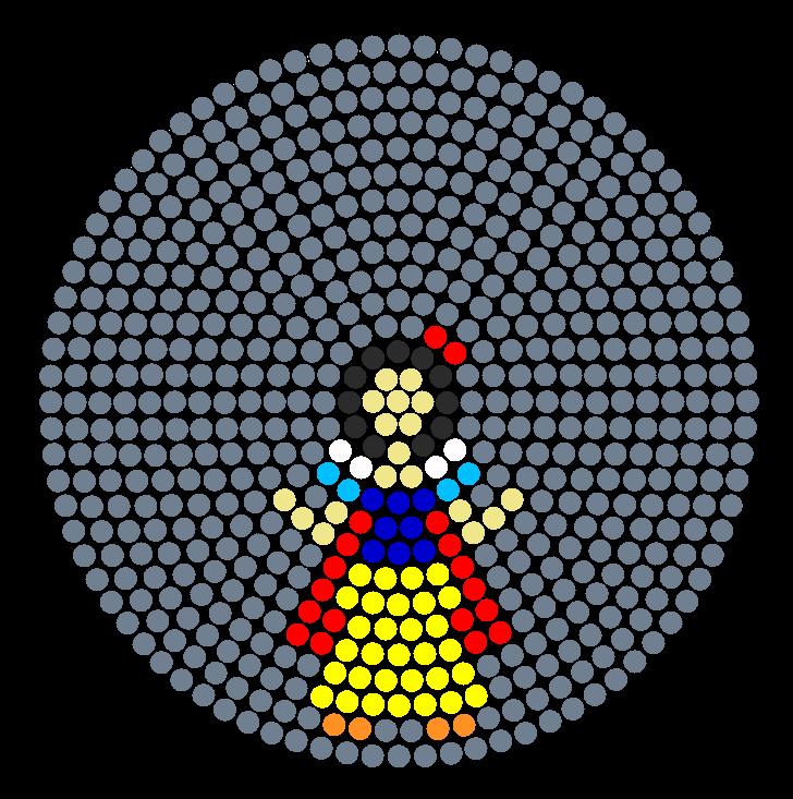 Disney princess snow white perler bead pattern bead sprite
