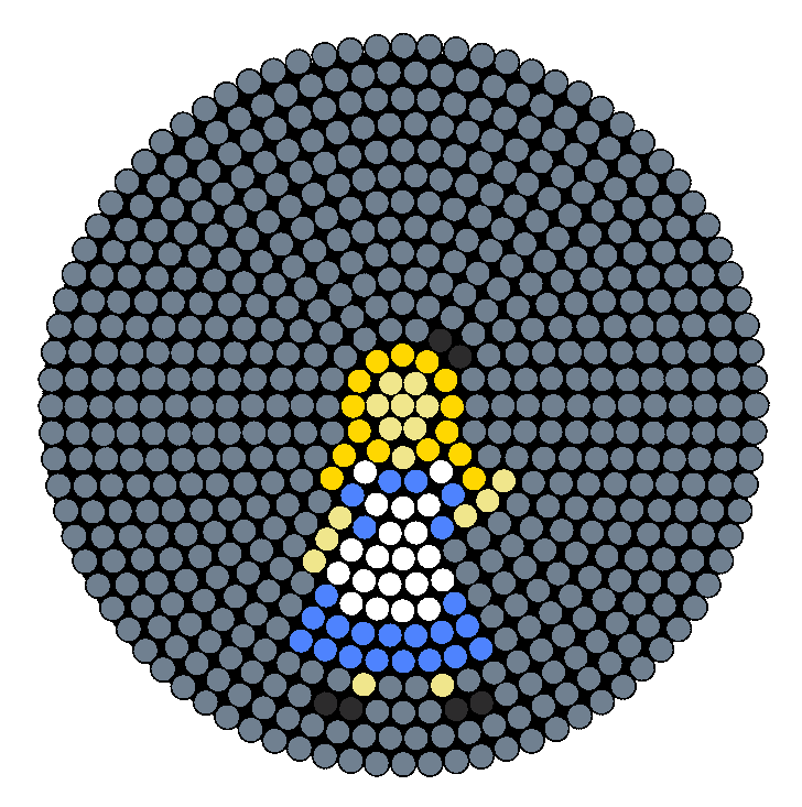 Disney Alice In Wonderland Perler Bead Pattern / Bead Sprite