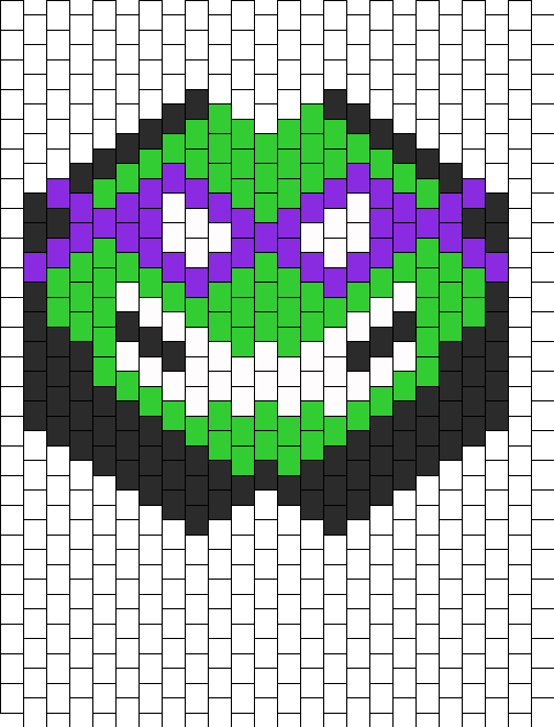 DONATELLO TMNT TEENAGE MUTANT NINJA TURTLE KANDI MASK